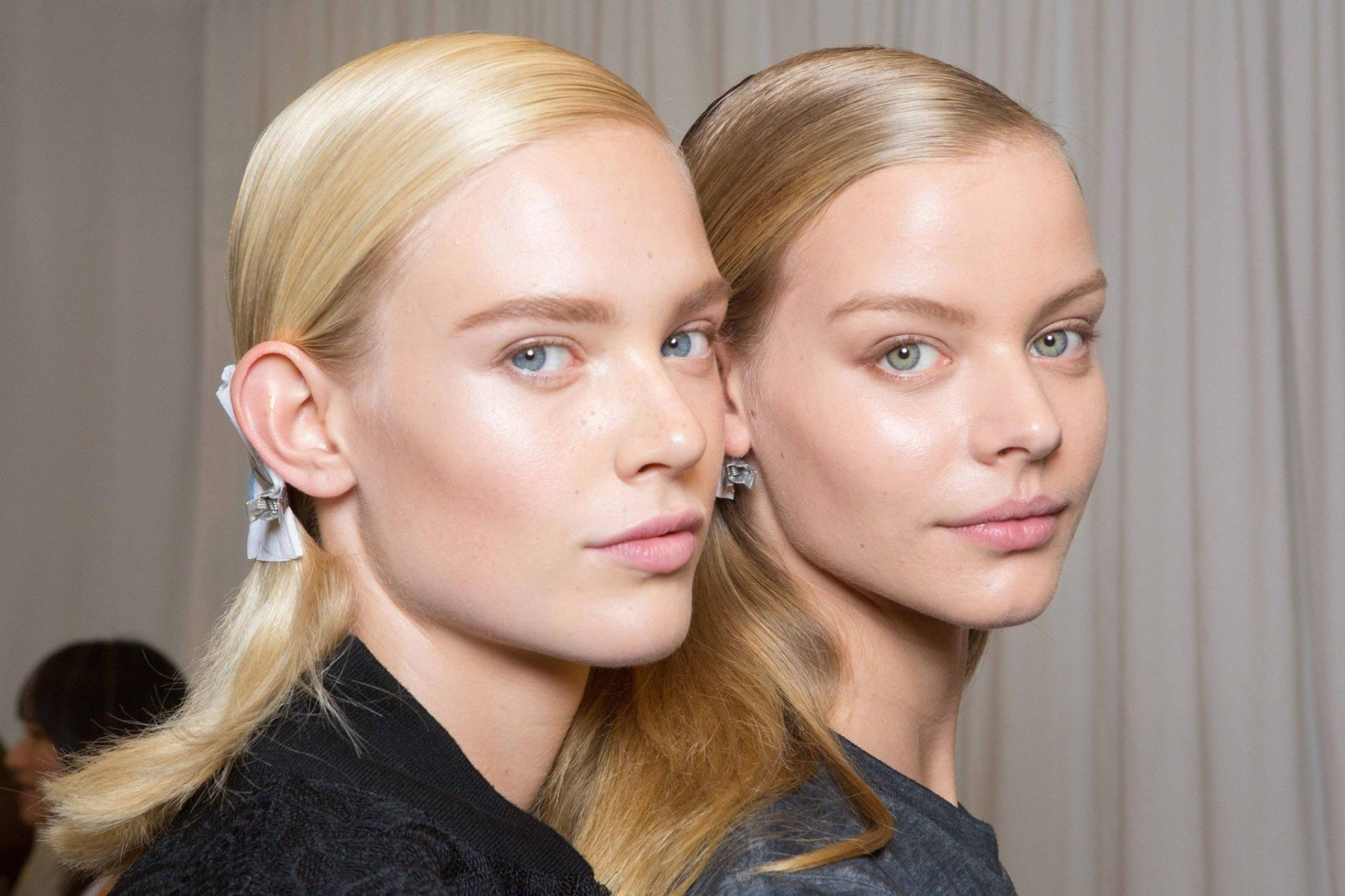 DKNY backstage, Spring 2016, New York Fashion Week, September 2015, Image: 259738640, License: Rights-managed, Restrictions: , Model Release: no, Credit line: Profimedia, FirstView