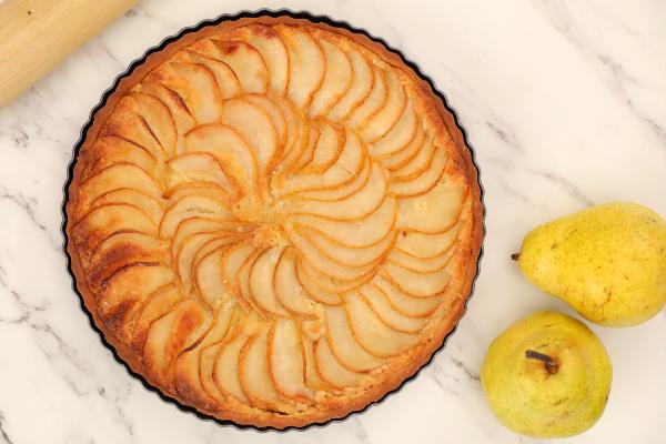 Пирог с грушами, перед которым невозможно устоять