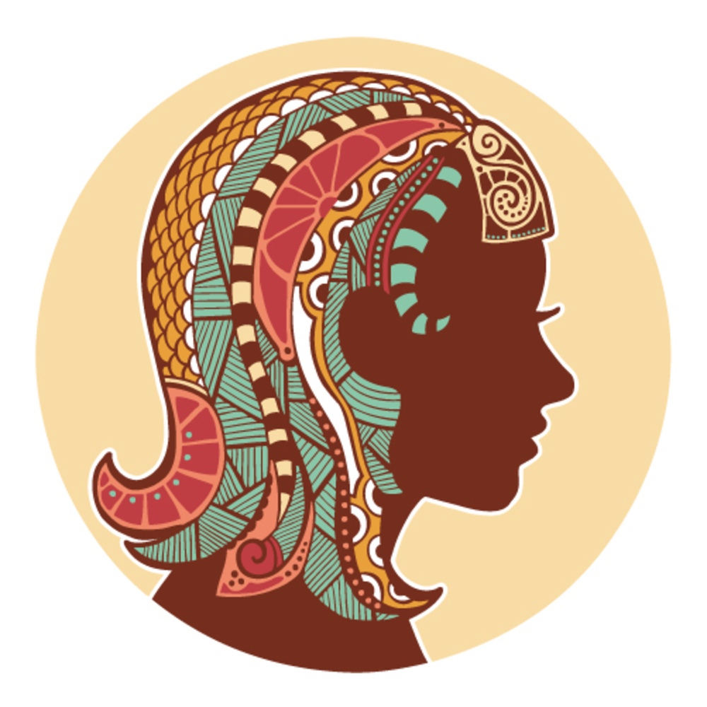 Zodiac signs - Virgo (colored)