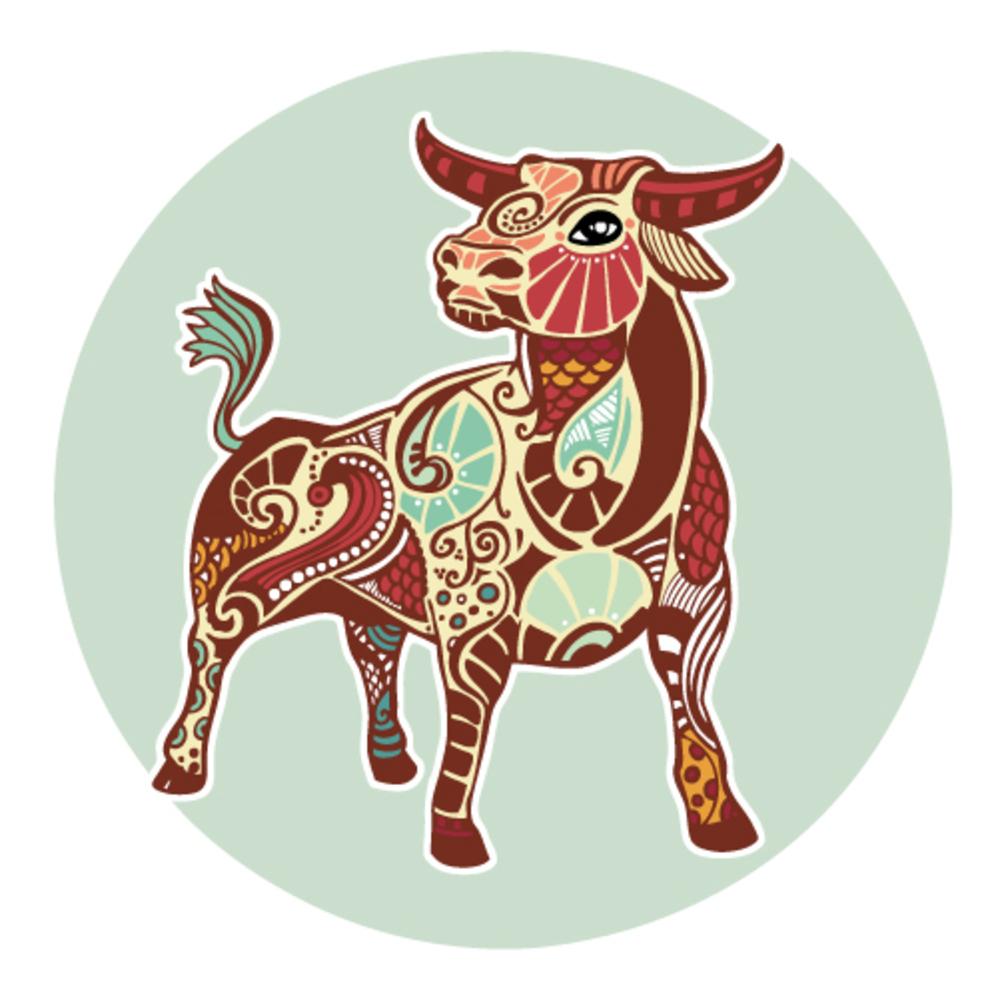 Zodiac signs - Taurus (colored)