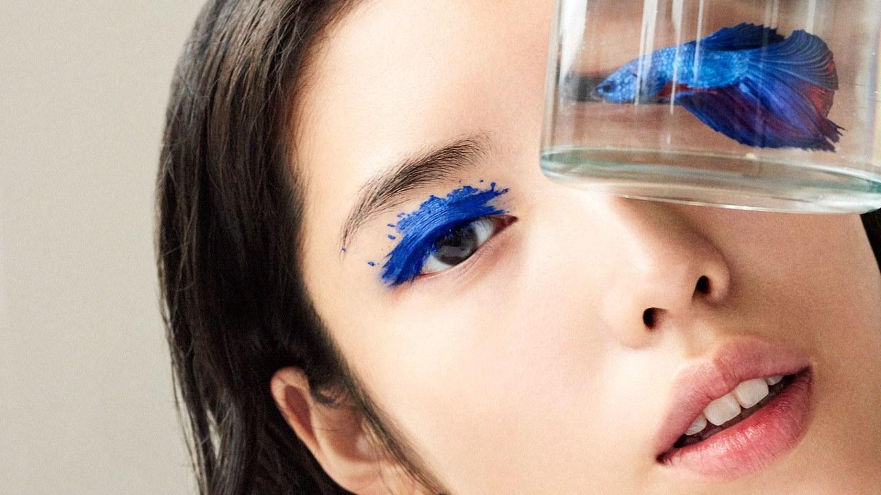 Яркие мечты: макияж в оттенках синего