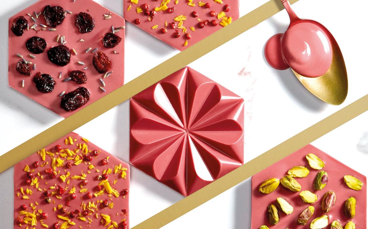 Шоколад с фруктовыми нотами: Ruby