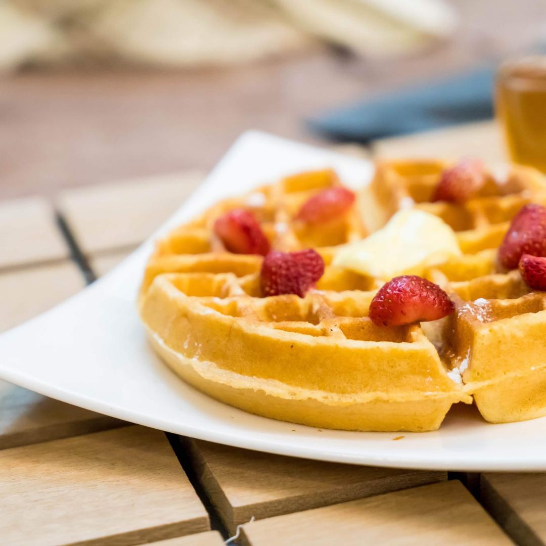 Завтрак, который вам понравится: полезные вафли
