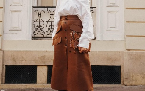 Юбки миди: с чем носить весной?