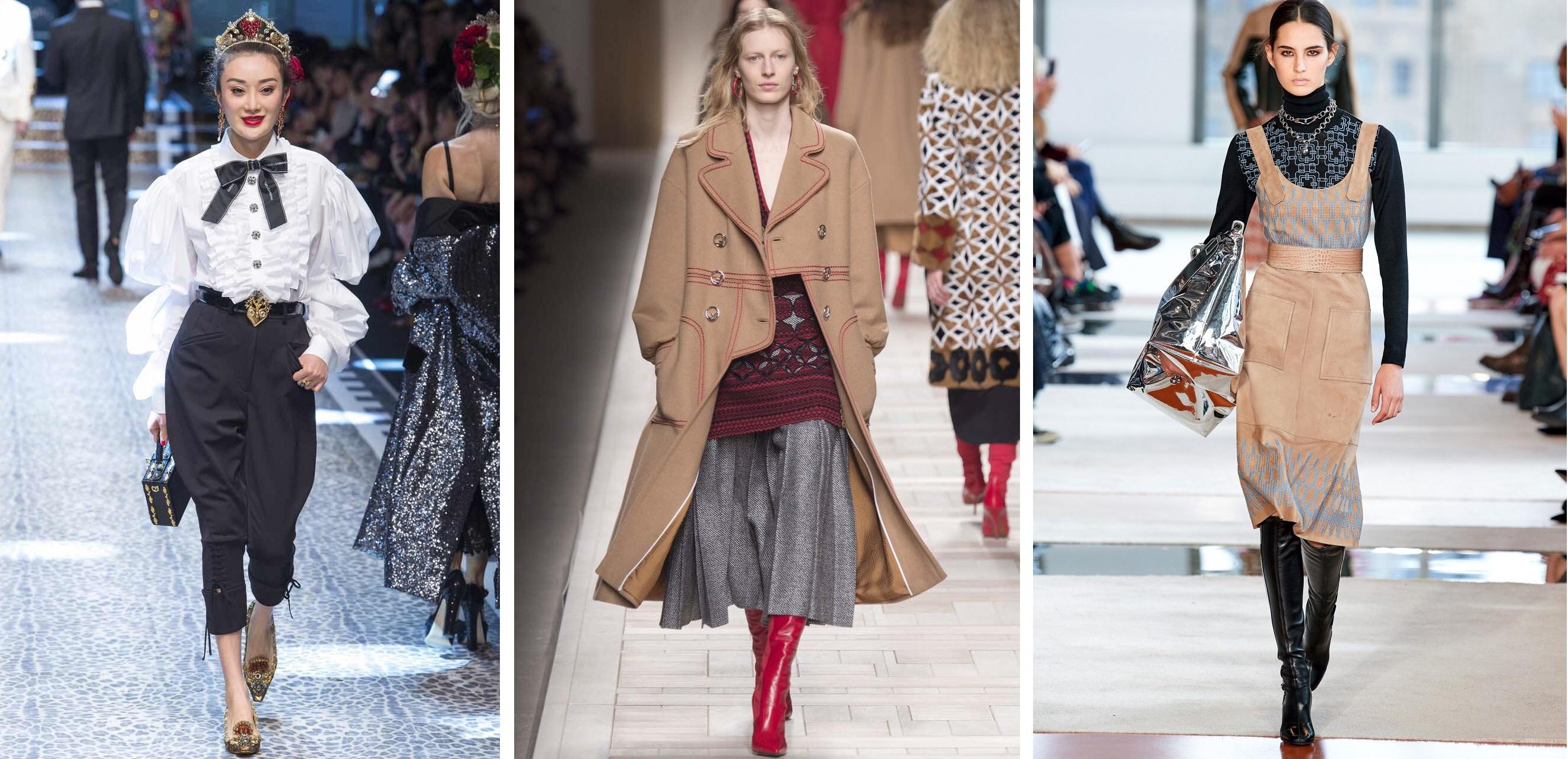 Тренды с недели моды в Милане