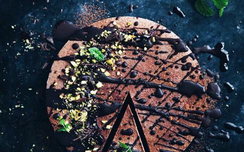 Шоколадный торт мусс без выпечки