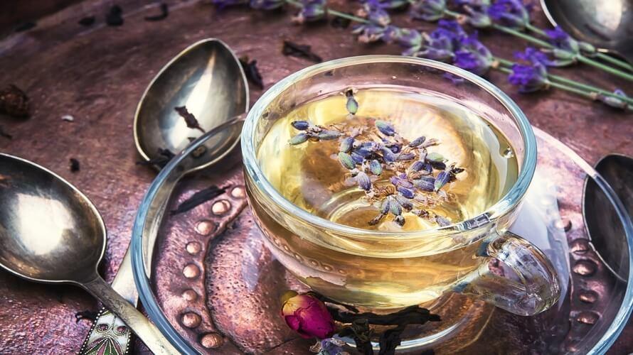 Чай с лавандой: польза и рецепт
