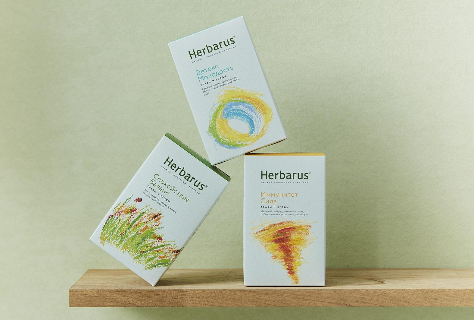 Польза природы: травяные чаи Herbarus