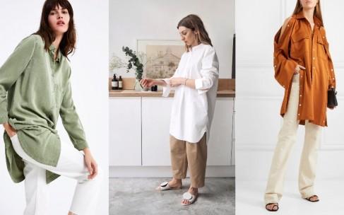 С чем носить тунику летом: идеи для гардероба