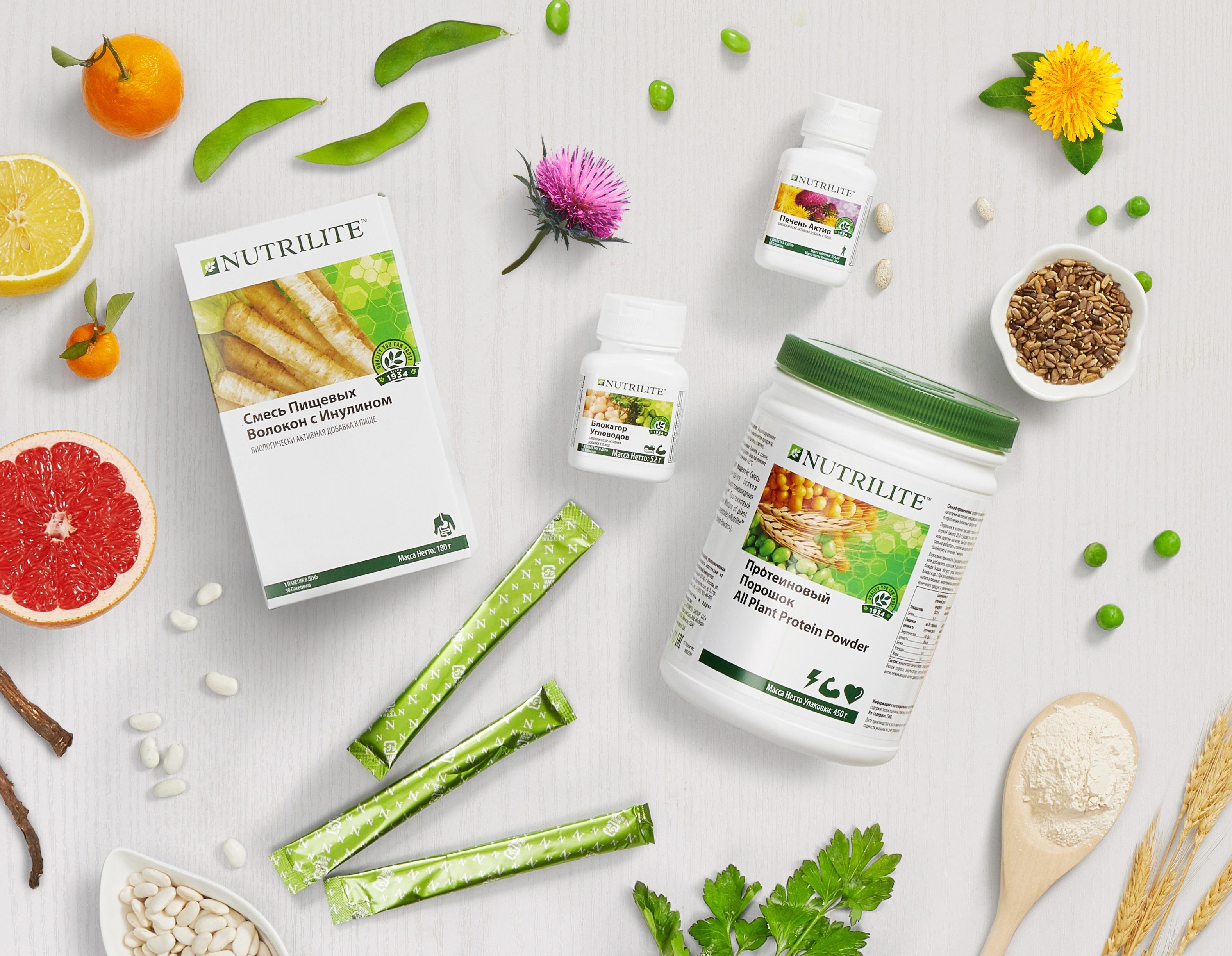 Избавьтесь от лишнего за 3 недели: NUTRILITE Body Detox