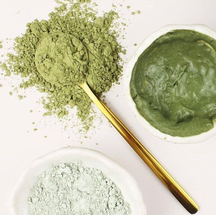 Зеленая глина для лица: использование
