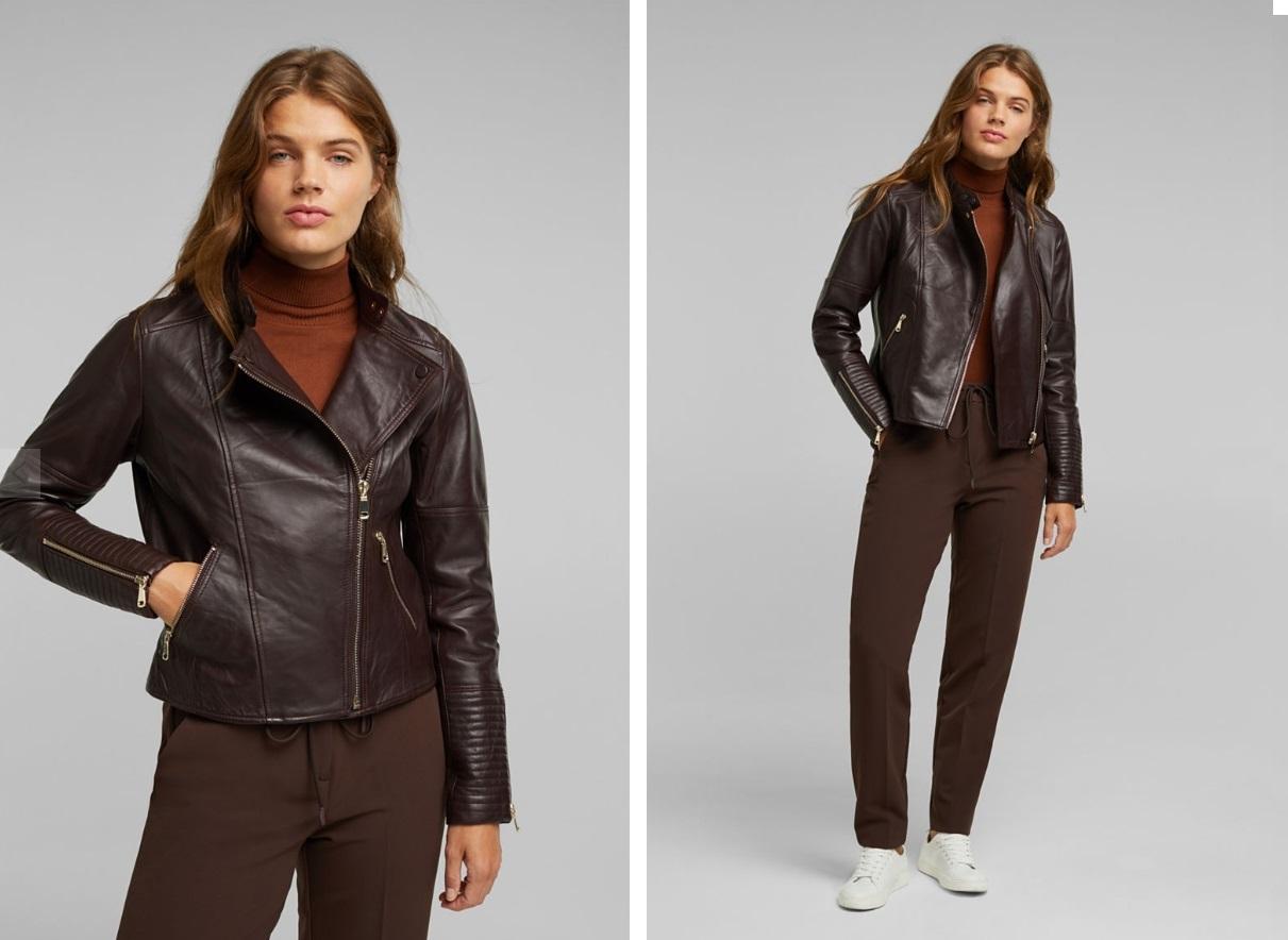 Кожаные куртки: новинки сезона