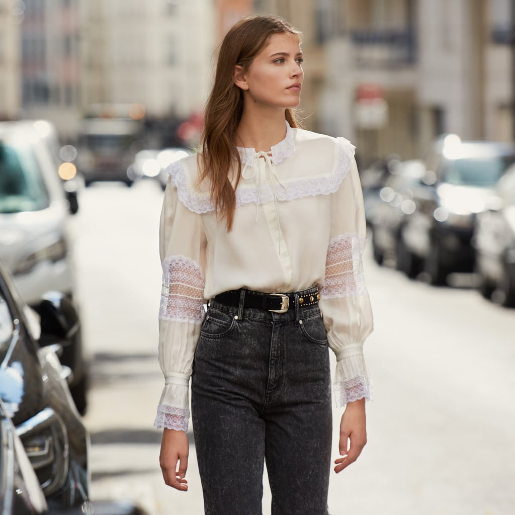 Sandro-Lace-Embellished-Blouse