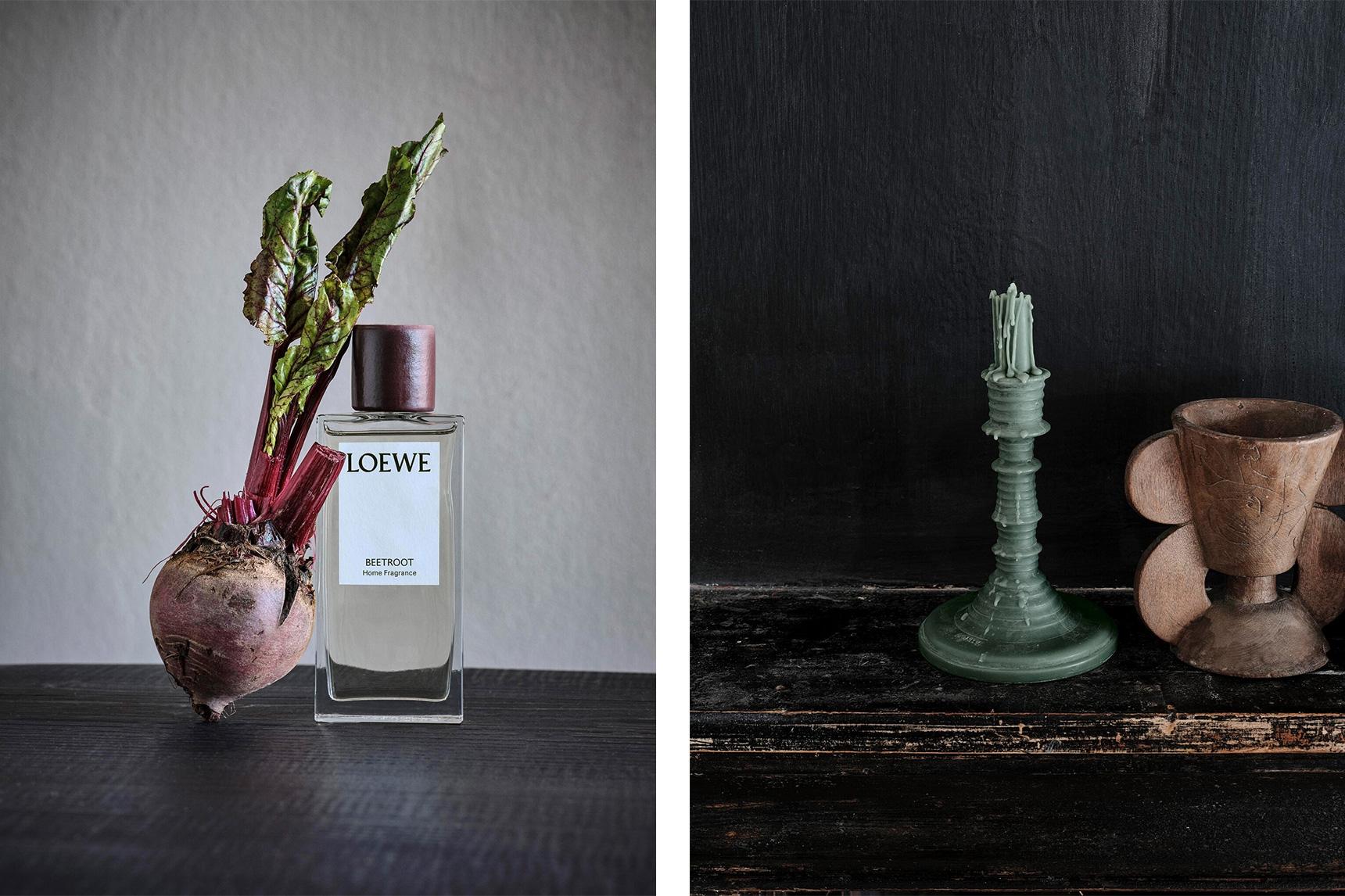 С запахом горошка и свеклы: овощные ароматы Loewe