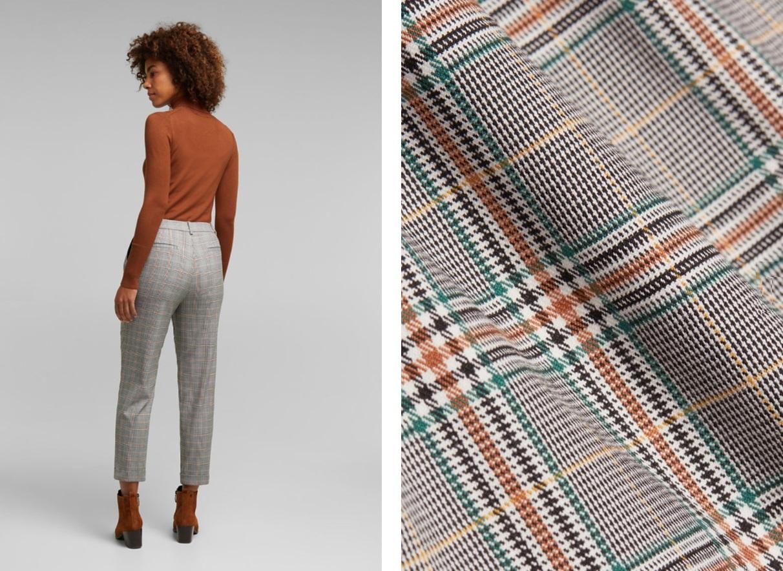 Брюки из твида – лучшая женская одежда для холодной погоды