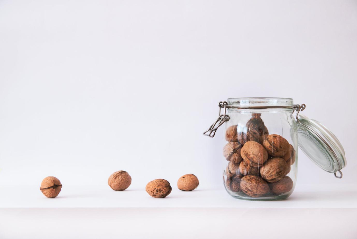 В каких орехах меньше всего калорий?