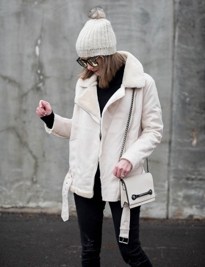 off-white-shearling-moto-jacket-the-best-shearling-jackets-black-and-cream-winter-outfit-winter-fashion-how-to-stay-looking-chic-in-the-winter