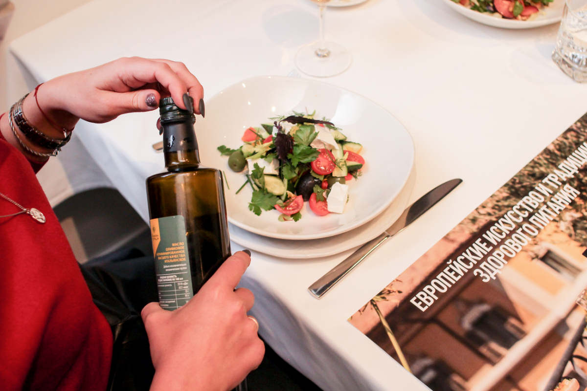 Правильное оливковое масло