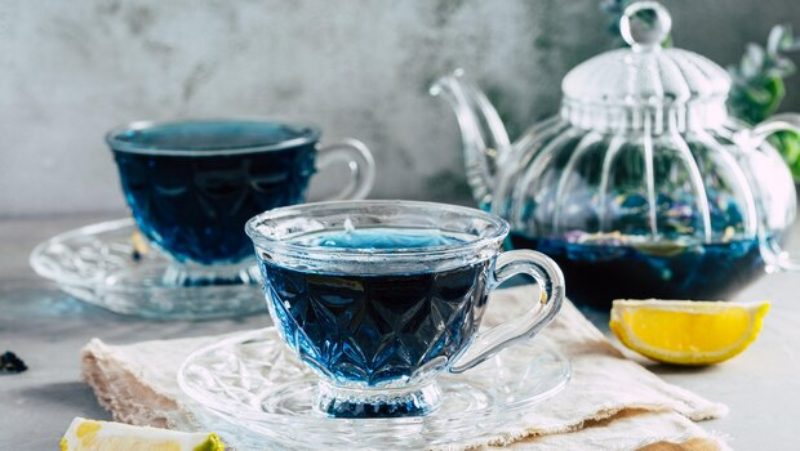 Синий чай — что это?