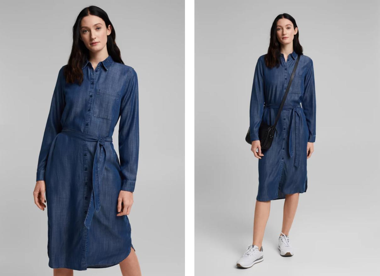 Ваше новое джинсовое платье