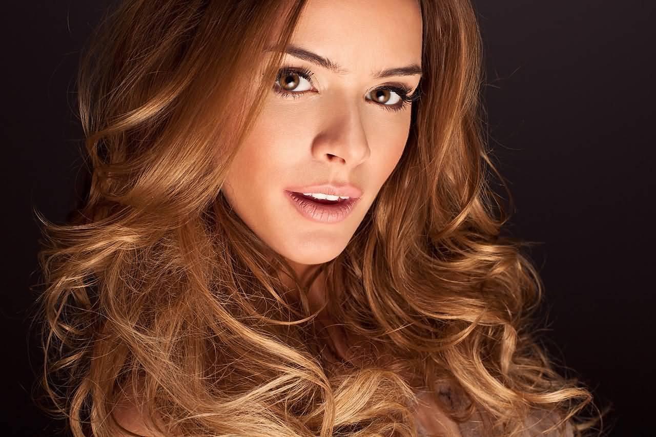 Модное окрашивание: оттенок волос жареная карамель