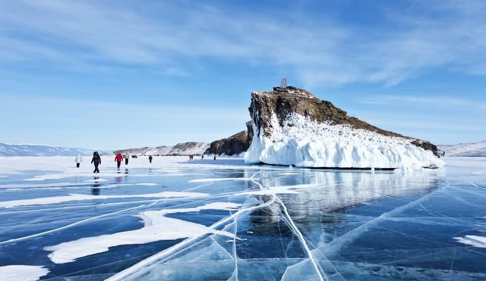 Лёд. Байкал