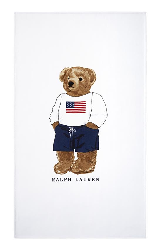 Пляжное пололтенце TSHIRT BEAR WHITE - Ralph Lauren
