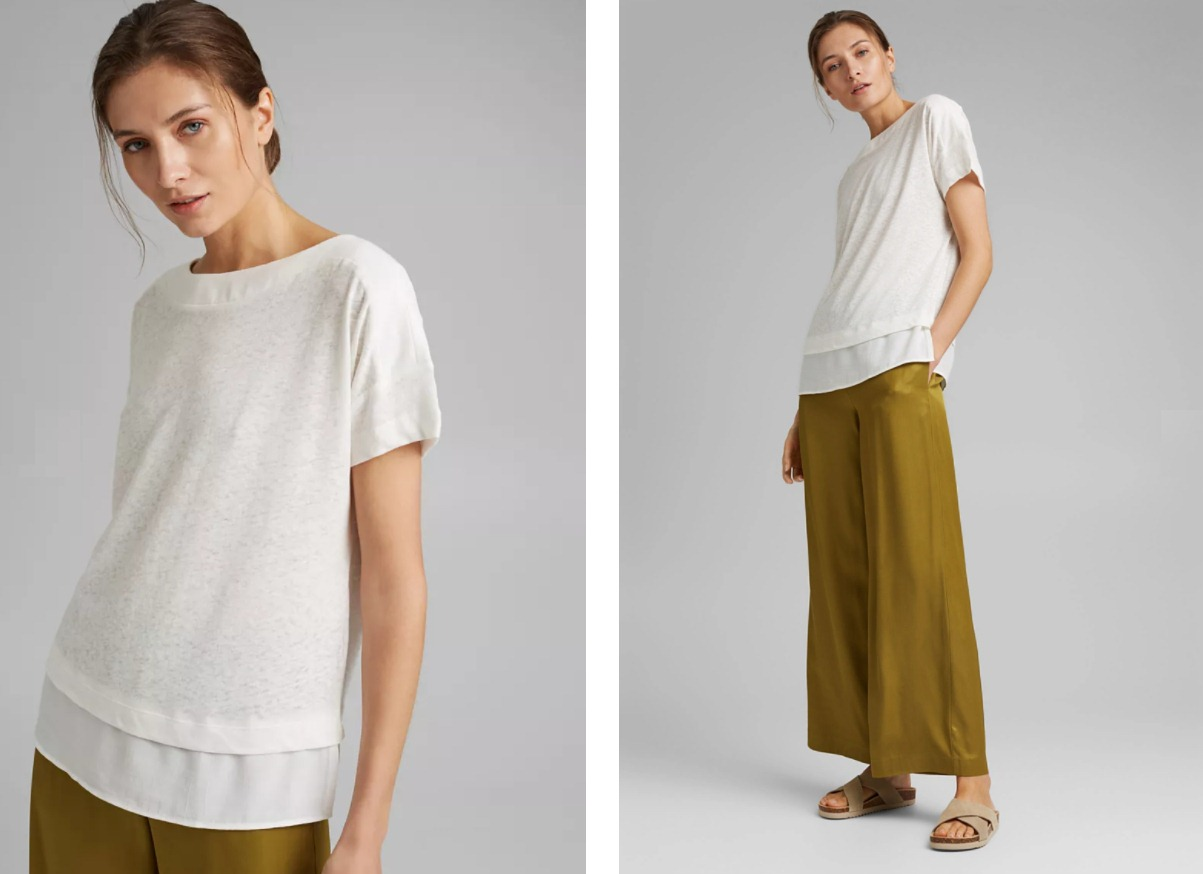 Современные идеи как носить белую футболку