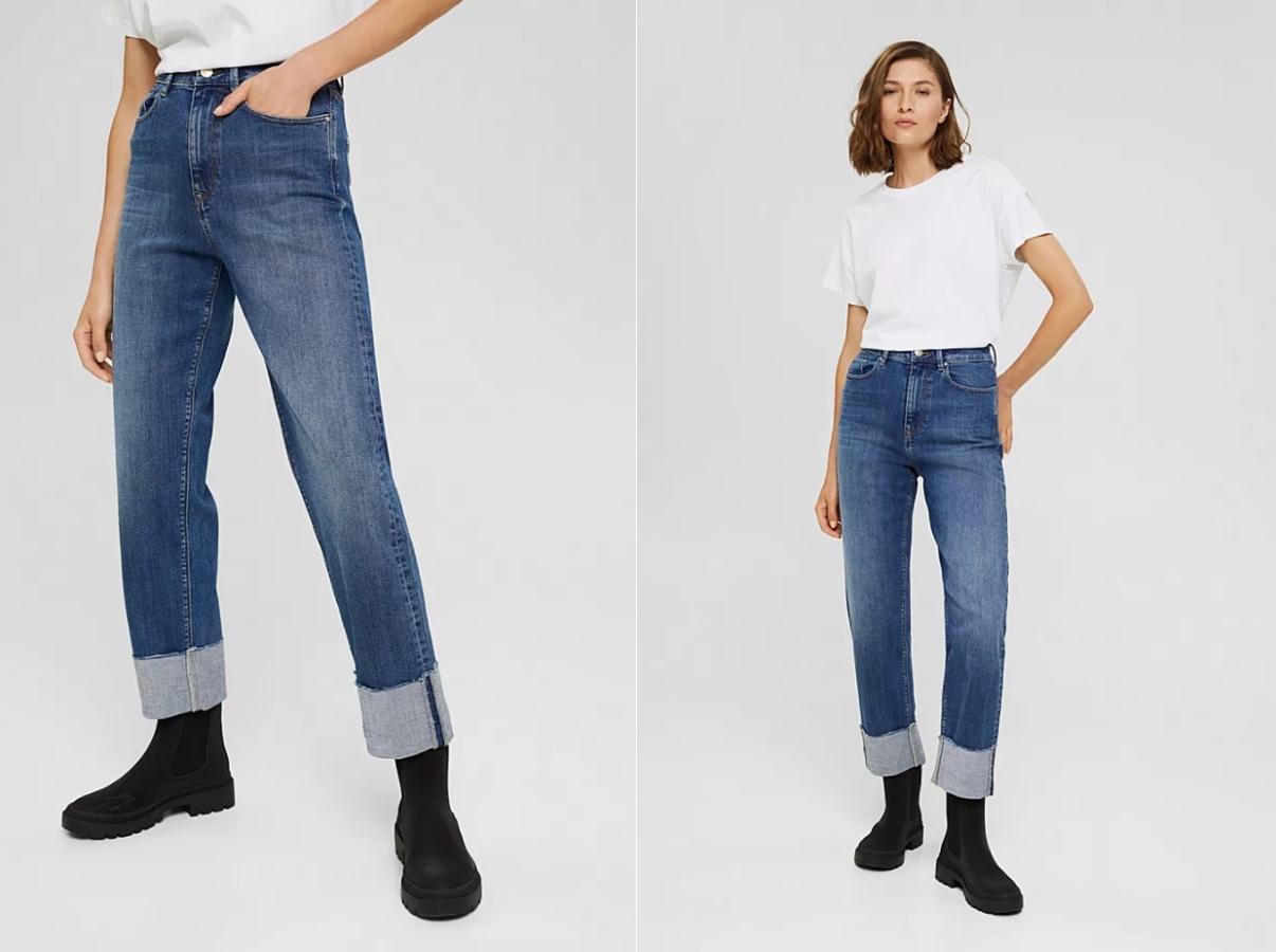 Широкие джинсы: модные модели сезона