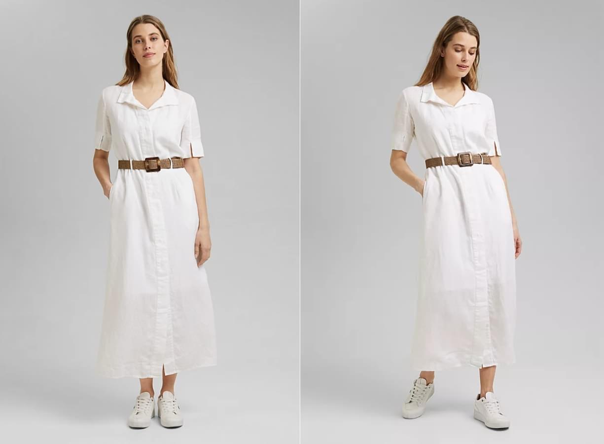 Платье-рубашка — выбор для лета и осени