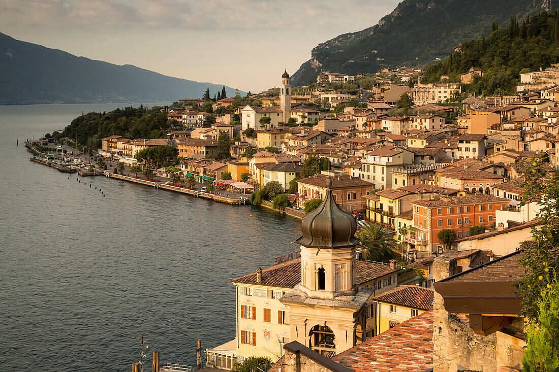 70419945-View-to-Limone-sul-Garda-Lake-Garda-Lombardy-Italy-Europe