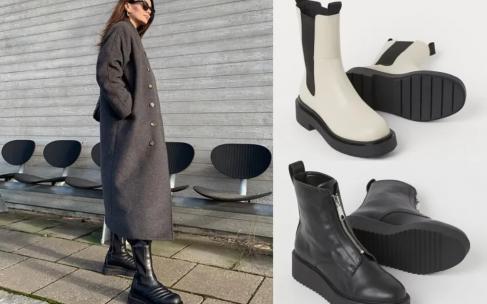 С чем носить грубые ботинки?